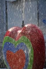 Watery heart (jeangrgoire_marin) Tags: heart water art refreshing fountain paris france