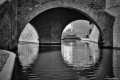 Ponte dei Trepponti (Marano Marco) Tags: marano maranomarco comacchio ferrara emilia emiliaromagna romagna ponte bridgecomacchio trepponti pontedeitrepponti laguna lagunacomacchio comacchioitaly trepponticomacchio saline