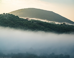 Mountains of Epirus (@photobjorn) Tags: availablelight fog greece haze landscape m43 morning olympusomdem5ii outdoor olympusm40150f456r trees mountains layers valley