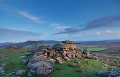 GutterTorGentleDawn_2016_09_25_4446 (Sam Waddy) Tags: dartmoor landscape light d800 pce south west dawn tor rocks clouds