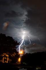 Cuando la naturaleza te atrae (Roberto Espinoza Lpez) Tags: rayos thunderstorm photography nikon nikonistas largaexposicin longexposure