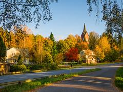 Kirkonmki (MikeAncient) Tags: mntsl finland suomi syksy fall autumn foliage syksynlehdet puu puut tree trees rakennus building