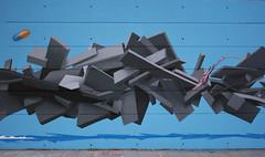 SODA/BOOST (SODA graffiti) Tags: blue light summer italy parco detail london wall graffiti 3d akira soda kk tetsuo boost kaneda udine rizzi kantiere