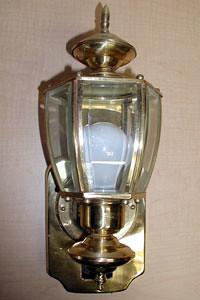 Photo - Non-compliant Light Fixture