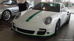 997 Turbo 550hp (Lucas F.S.) Tags: white shop race fort 911 engine special turbo swap porsche lauderdale preston 997 henn 550hp