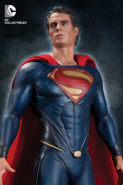 Man of Steel ! 新超人雕像傑作情報!