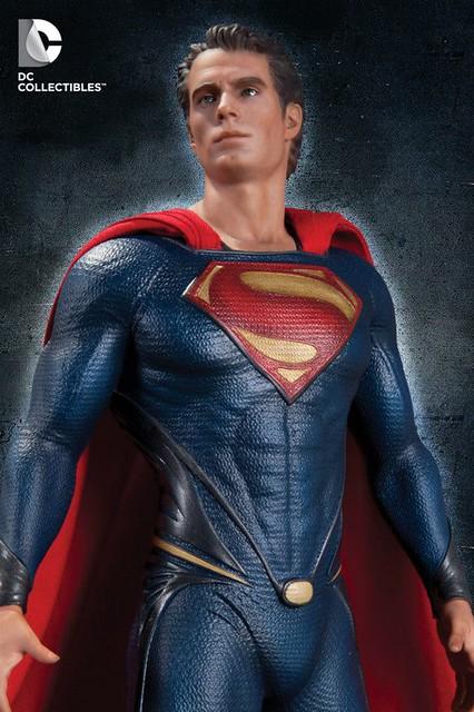 Man of Steel ! 新超人雕像傑作情報!