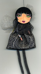 Liza (Frilled Daisy) Tags: dolls ornaments handpainted fabris