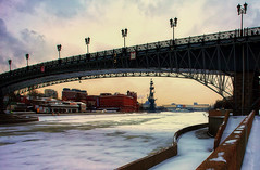 _GVL9760 (-10C) (Gena Golovskoy) Tags: bridge snow day russia moscow under