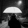 Balade sous la neige (RVBO) Tags: bw snow night nb neige nuit thephotographyblog