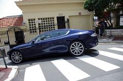 Aston Martin Rapide (ODMotors) Tags: blue martin monaco aston rapide