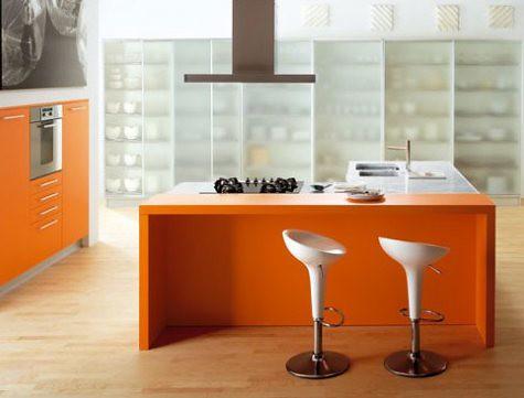 isleta minimalista cocina