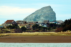 Pacific City and Haystack Rock (CleanCletus) Tags: beach oregon coast haystackrock pacificcity