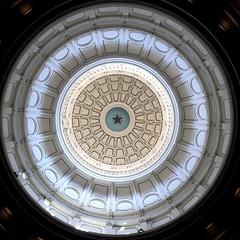 Texas, My Texas (juhmarksman) Tags: building beautiful austin star texas circles ceiling capitol lone lonestar