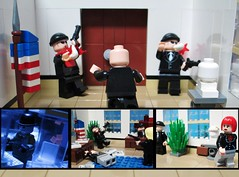 The Attack (Julius No) Tags: clock king force lego x coco captain lex boomerang mercy plastique task luthor