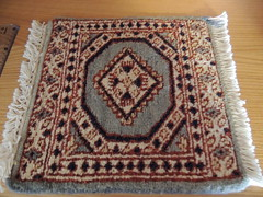"Wool rug 12"" x 13"" (Eurynome101) Tags: woolrugs"