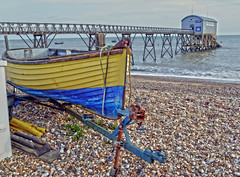 Boating (blue angel66) Tags: west beach station sussex boat pebbles lifeboat nautical selsey rnli