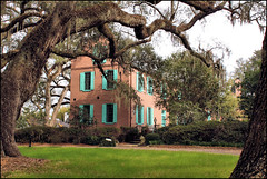 Medway Plantation (itsbrandoyo) Tags: old sc dutch antique gothic southcarolina historic haunted southern plantation mysterious oaks goosecreek medway roofing