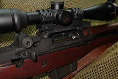MILDRED (loganwx1) Tags: auto wood magazine nikon long scope stock rifle semi clip rings short monarch springfield weaver distant m14 308 m1a