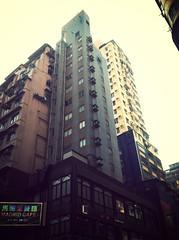 Apartment Buildings - Mongkok (CX734) Tags: street ladies fruit night day place market hong kong mongkok fa 2012 yuen langham uploaded:by=flickrmobile flickriosapp:filter=mammoth mammothfilter