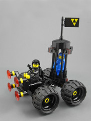 Nefarious Blacktron (halfbeak) Tags: lego space rovers blacktron febrovery febrovery2013