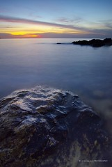 Wet (Syafiqjay) Tags: sunset sun nature rock stone landscape still nikon peace earth ngc tranquility calm filter lee nd february waterscape cokin wallpaer gnd8 d7000 nikoncolour photofibre syafiqjay