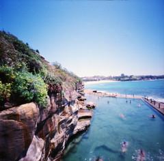 McIver's Women's Baths pinhole (Aliceblueblazes) Tags: beach australia pinhole coogee oceanbath oceanpool mcivers ektar100 4secondsorso