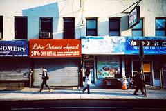 Grand Street Stores (Lomo) (roeyahram) Tags: street city newyorkcity newyork les lomo lomography manhattan lowereastside lomolca