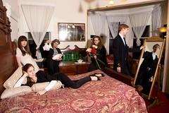 (Clayton J. Mitchell) Tags: portrait people vintage hotel retro artsy