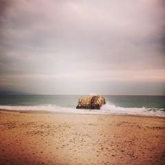 Torretta - Spiaggia di Quartu Sant'Elena - Explore 20 feb. 2013 (Isabella Pirastu) Tags: uploaded:by=flickrmobile flickriosapp:filter=nofilter