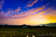 Pastoral  Sunset ( Nana) Tags: life light sunset sky cloud nature beautiful clouds colorful sundown natural taiwan  pastoral    taiwan photographyforrecreation pastoralsunset