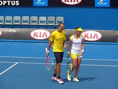 Soares and Garrigues (hyperren) Tags: spain tennis spanish medina brazilian bruno tennisplayer anabel australianopen soares melbournepark anabelmedinagarrigues spaniard garrigues brazili brunosoares