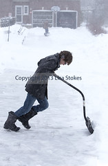 Teen Shoveling (Lisa-S) Tags: winter portrait snow ontario canada lisas brampton shoveling invited alun 2563 flickropen copyright2013lisastokes getty2013 winterstormnemo getty20130226