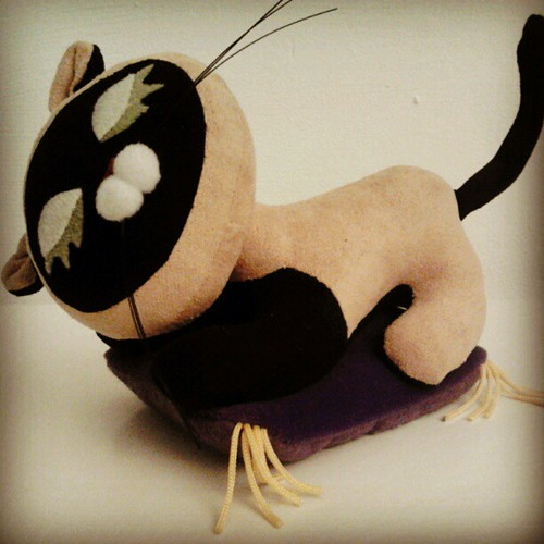 Vintage stuffed Cat