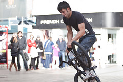 7 (snappitt photography) Tags: family people kids fun dance bmx candid streetphotography bikes belfast entertainment acrobatics cornmarket snappitt backinbelfast