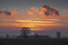 Sunset over the Damme fields (Roland B43) Tags: sunset landscape belgium damme abigfave mygearandme mygearandmepremium mygearandmebronze mygearandmesilver mygearandmegold mygearandmeplatinum mygearandmediamond photographyforrecreation galleryoffantasticshots me2youphotographylevel1 vigilantphotographersunite vpu2 vpu3 vpu4