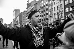 Untitled (Kevin Vanden) Tags: street brussels white black streets march belgium candid union protest documentary scene demonstration portret trade