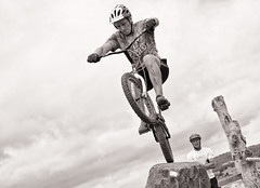 Australian Mountain Bike Championships - part 6 (screenstreet) Tags: blackandwhite tamron2875mm tamron2875mmf28 stromloforestpark silverefexpro canberra100 canberra100centenaryevent bicycletrialsevent 2013australianmountainbikechampionships mtbchamps