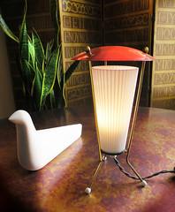 Viva Italy! Tiny Stilnovo? 1950's lamp (Mad Modern) Tags: bouroullec eamesera stilnovo atomiceralamp midcenturyitalianlamp