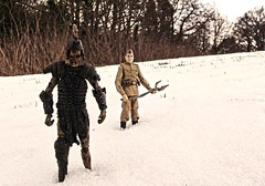 Spear of Destiny - Raising the Roman Army (Evil Cheese Scientist) Tags: snow army march jones darkness roman zombie indiana russian 2013 gurd