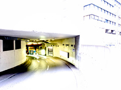 Garage Exit (donlunzo16) Tags: city color town downtown stuttgart garage x series impressions uji impression x10 feinkost bhm