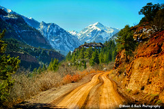 Backroad To Heaven (Aspenbreeze) Tags: mountain mountains rural colorado dirtroad sanjuans countryroad sanjuanmountains mountainroad snowpeaks ruralroad snowypeaks gpse aspenbreeze moonandbackphotography topphotospots tpslandscape bevzuerlein