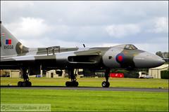 RIAT 2012 - Avro Vulcan B.2 XH558 (Si 558) Tags: cold tattoo war air royal nuclear international b2 vulcan bomber raf 2012 avro fairford riat xh558