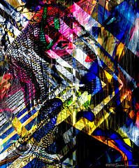 rEd LiPS - ThE LooK (GAPHIKER) Tags: nyc newyorkcity red abstract color art window lines digital hotel shapes redlips windowdisplay conrad bergdorfgoodman hss happyslidersunday
