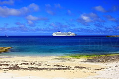 The Bahamas (Phil-V.com) Tags: ocean travel sea sky clouds wow photo nice warm awesome bahamas ncl philv