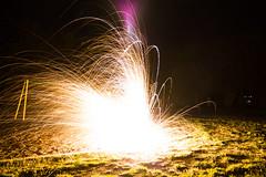 Sparkler Bomb (jmiller291) Tags: longexposure light lightpainting playground night canon long exposure midnight 1855mm lighter bomb sparkler sparks fuse sparklerbomb 650d t4i