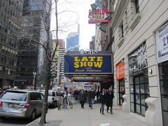 Late Show, with David Letterman (Leo Amato) Tags: ny newyork manhattan lateshow cbs davidletterman edsullivantheater