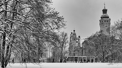 neues rathaus (Winfried Veil) Tags: leica schnee winter veil saxony leipzig sachsen winfried m9 2013 leicam9 winfriedveil