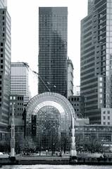 World Financial Center (rmartinsssz) Tags: travel winter bw usa newyork black building skyscraper janeiro manhattan unitedstatesofamerica january eua eastriver worldfinancialcenter lowermanhattan novaiorque estadosunidosdaamerica 2013 nikond90 rmartinsssz