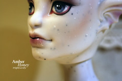 Gargoyle (Amber-Honey) Tags: fashion monster amber high mod doll ooak cam gargoyle honey create custom mattel repaint